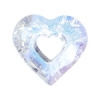 Miss U Heart 26mm Aurora Borealis Crystal